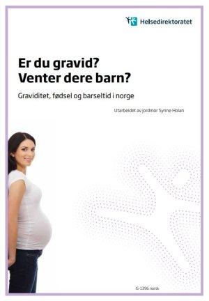 Er du gravid - Venter dere barn - Graviditet, fødsel og barseltid i Norge