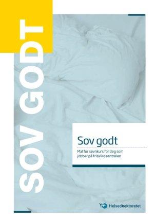 Sov godt – Mal for søvnkurs for deg som jobber på frisklivssentralen