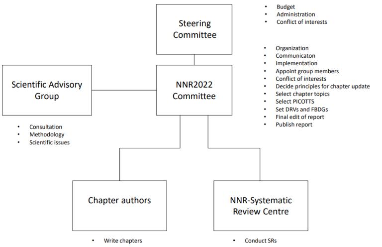 NNR 2022 Organization chart