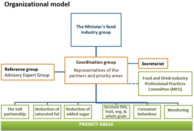 Overview  of the organisational model