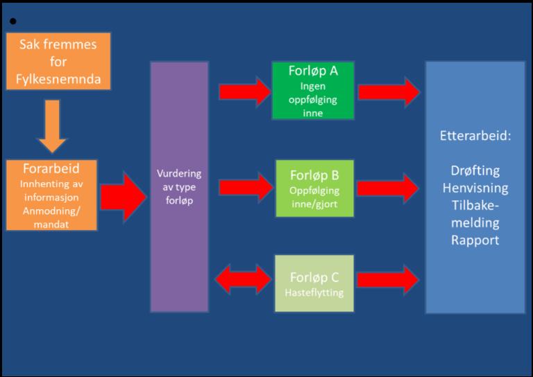 Mulig felles rammeverk for ulike helsekartleggingsforløp